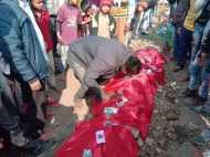 यूपी: लोगों ने बीच सड़क पर बना दी BJP नेताओं की कब्र, मनाया मातम, जानिए पूरा मामला