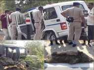 गुजरात: अंबाजी दर्शन से लौट रहे CM रुपाणी का काफिला जंगली सुअर से टकराया, 3 सिपाही जख्मी