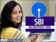 SBI Recruitment 2019: स्टेट बैंक ऑफ इंडिया में इन पदों पर नौकरी, जल्द करें आवेदन