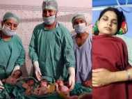 यूपी: महिला ने एक साथ दिया चार बच्चों को जन्म, जच्चा-बच्चा दोनों स्वस्थ