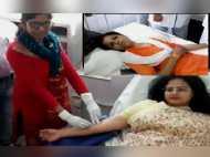 कलेक्टर ने बीमार युवती को ब्लड देकर बचाई जान, WhatsApp मैसेज देख खून देने पहुंचीं अस्पताल