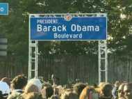 लॉस एंजिल्स में जहां से बराक ओबामा ने किया था चुनाव का आगाज, वहीं अब उनके नाम पर है सड़क