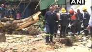 अहमदाबाद में बड़ा हादसा: पानी की टंकी गिरने से 2 लोगों की मौत, 6 जख्मी, बचाव कार्य जारी