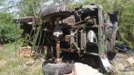 राजस्थान के बाड़मेर में भारतीय वायुसेना का ट्रक पहाड़ से 100 फीट नीचे गिरा, 3 जवान की मौत