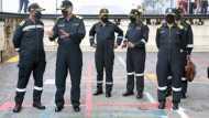 Video: INS विक्रमादित्य पर पहुंचे Indian Navy प्रमुख, परखीं युद्ध की तैयारियां