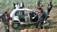 हाईवे पर ड्राइवर को आई झपकी, बेकाबू कार पेड़ से जा टकराई, एक ही परिवार के 4 लोगों की मौत