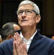 एप्पल को झटका, एक दिन में उड़े 75 अरब डॉलर