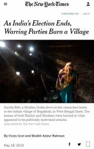 पश्चिम बंगाल के 'डायमंड हार्बर से हिंदुओं के पलायन' का सच