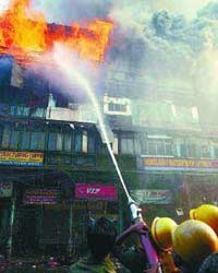 Fire in Kolkata