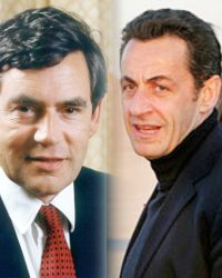 Nicholas Sarkozy Gordon Brown