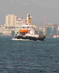Indian coast guards on patrolling