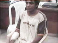 Kasab's pic in media