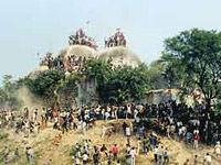 Babri Mosque dimolition