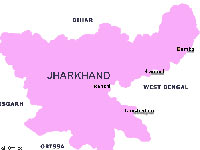 Jharkhand Map