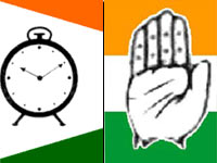 NCP, Congress flags