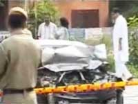 Smashed car found in Rohini