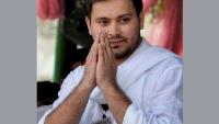 राज्यपाल ने नीतीश कुमार को सुबह 10 बजे शपथ के लिए बुलाया, राजभवन पर धरने को पहुंचे तेजस्वी