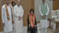 पैरा ओलंपियन दीपा मलिक बीजेपी में हुईं शामिल
