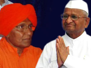 Swami Agnivesh is no more with Team Anna