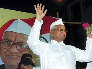 Anna Hazare Says Pranab Better Than Other Upa Ministers
