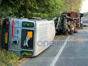 Eight killed in road accidents in UP