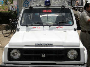 Uttar Pradesh Police Jeep Crushed Girl In Agra