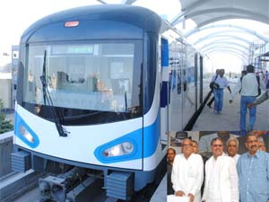 Haryana Government is ready to start the Rapid Metro services in Gurgaon