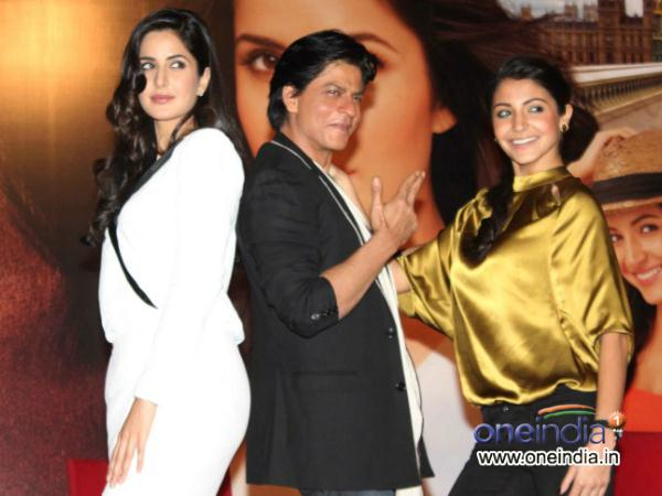 shahrukh khan praises anushka sharma neglects katrina