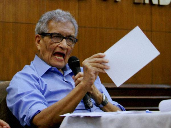 Congress doesn't have leaders: Amartya Sen