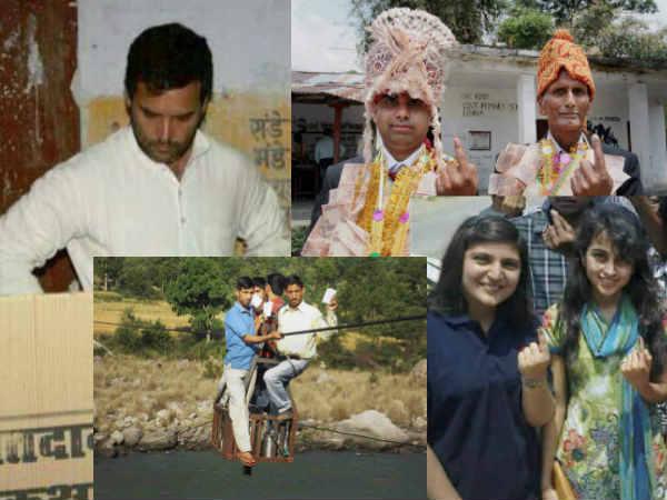Must See: 8वें चरण के मतदान की बेहतरीन तस्वीरें