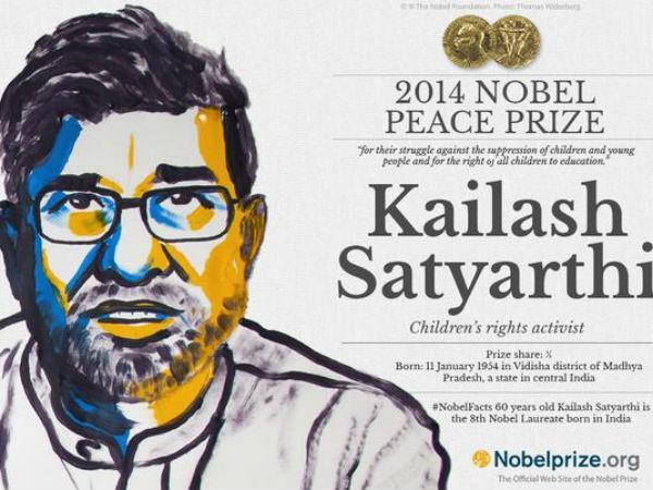 जानिए नोबेल विजेता कैलाश सत्यार्थी से जुड़ी 11 बातें