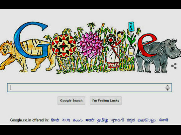 Google doodle marks Children's Day with Pune girl's colourful art