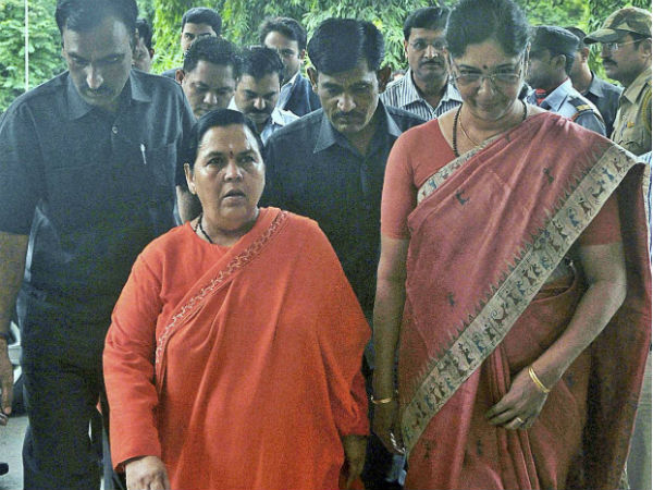 Uma Bharti Supporters Allegedly Stop Train For Her At Jhansi Station
