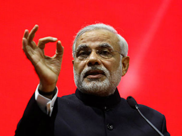 Modi interacts with top officials of India