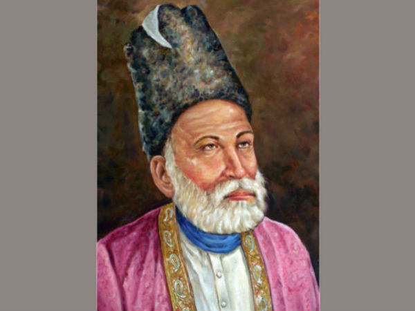 When a Sufi saint visited the house of Mirza Ghalib
