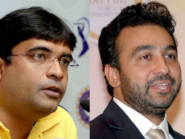 Raj Kundra and Gurunath Meiyappan suspended for life, CSK-RR suspended for two years