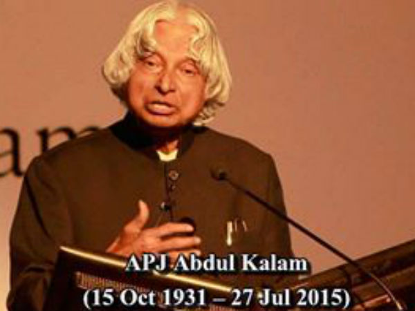 Two suitcase and Dr APJ Abdul Kalam