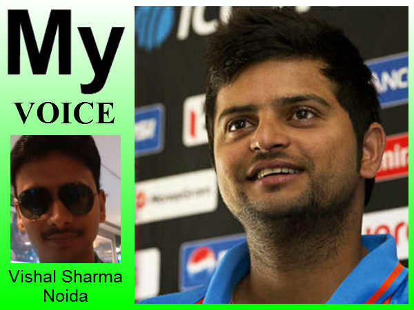 My Voice: Suresh Raina should get one chance in test match