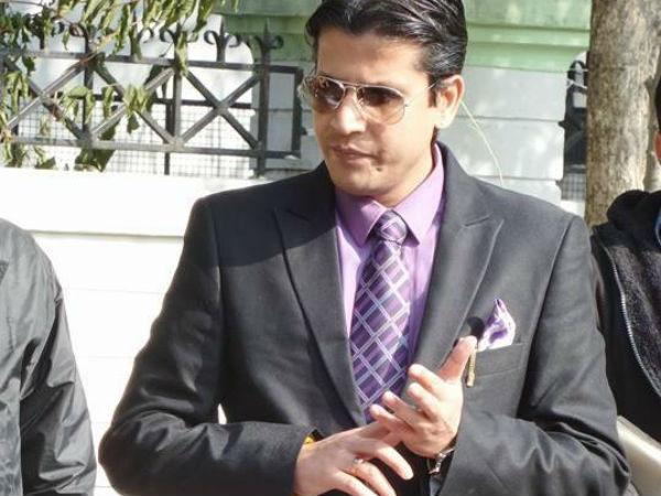 Congress MLA from Himachal Pradesh Neeraj Bharti