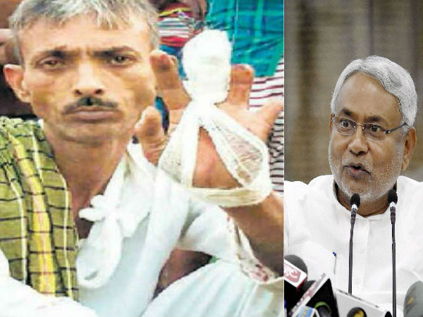 Man chops finger over Nitish Kumar's win