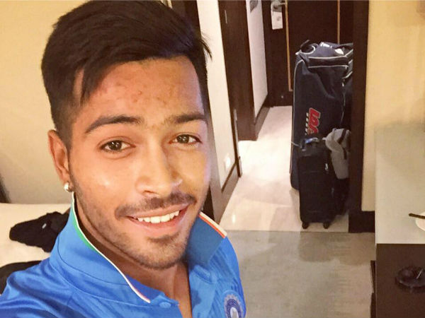 Hardik Pandya: selected in Indian T20 squad for India tour of Australia in 2015-16