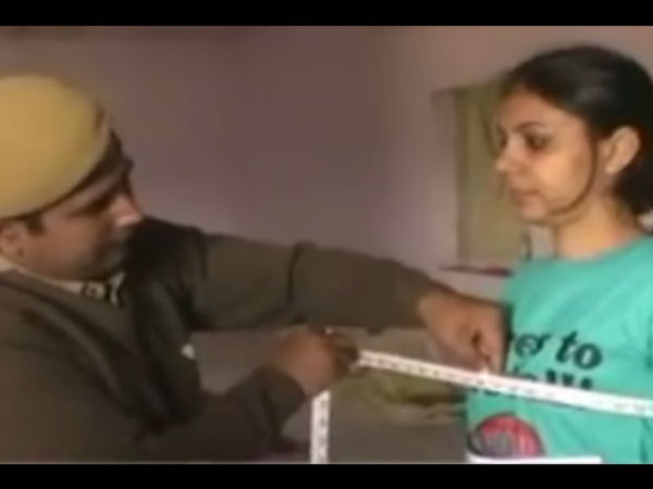 Lady Candidates Medical check up by Male Police in Rajasthan