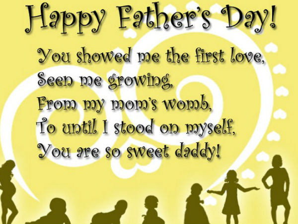 Father's Day ( 19 June): I Love My Papa