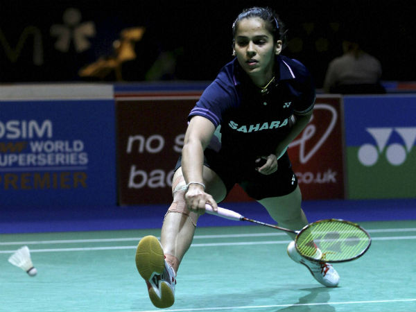 saina nehwal knee injury: may stay out four months from court