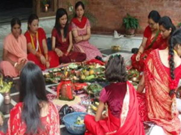 हरितालिका तीज : पूजा करने का सही मुहूर्त एवं समय | Hartalika Vrat 2016 and  Puja Vidhi | Puja Muhurat | About Teej Vrat in hindi - Hindi Oneindia