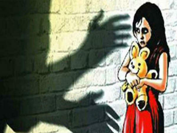 5 year old Dalit girl was raped in Hapud by own family member