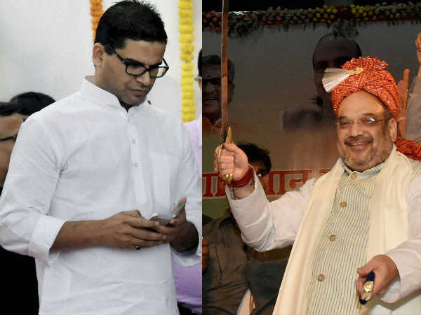 Amit Shah poaches 50 people trained by Prashant Kishor for congress campaign in UP
