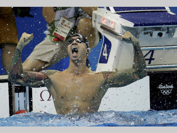 Anthony Ervin inspiring lifestory Sold gold medal, attempted suicide, now 2 golds at Rio Olympics after 16 years