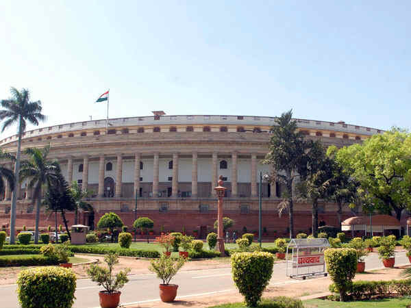 Fire breaks out in Parliament on the eve of Budget day