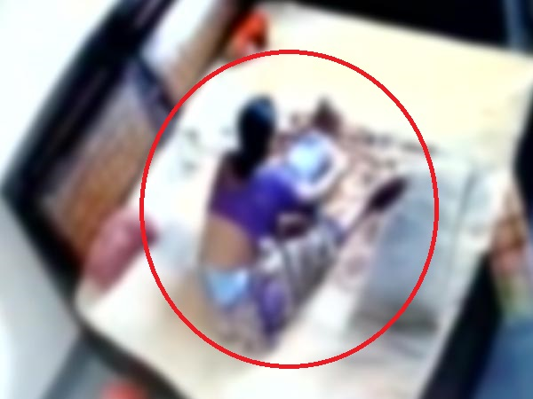 CCTV footage shows ruthless mother beating up, strangling child in Bareily